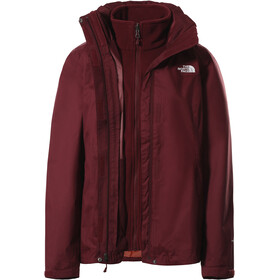 The North Face Evolve II Chaqueta Triclimate Mujer, rojo